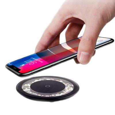 M8 Transparent Panel Mobile Phone Wireless Charger