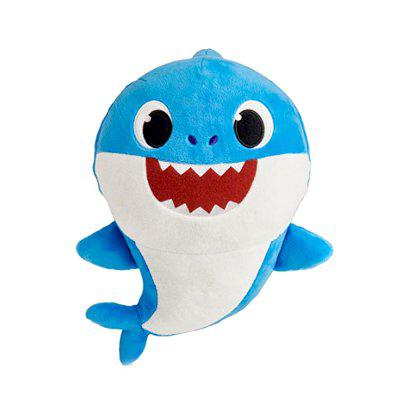 Cute Sing Songs Electric Shark Plush Toy
