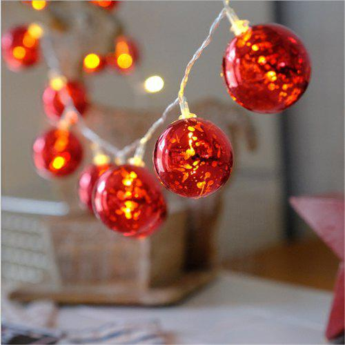 Have An Inquiring Mind Light String Led Wrought Iron Diamond Battery Box Home Indoor Holiday Wedding Decoration Lantern Lighting Strings