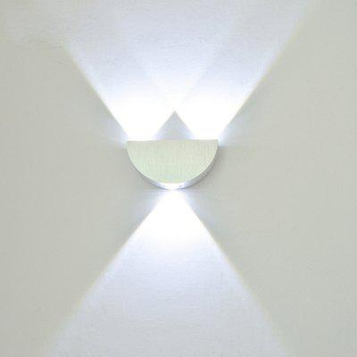 3W LED Wall Lamp Aluminum Light Sconce KTV Bar Decoration  AC 110 - 240