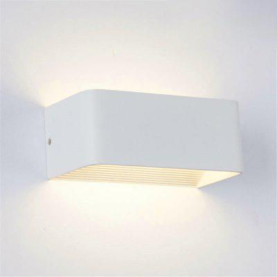6W LED Aluminum LED Wall Lamp Indoor for Bedroom Living Room AC 110 - 240V