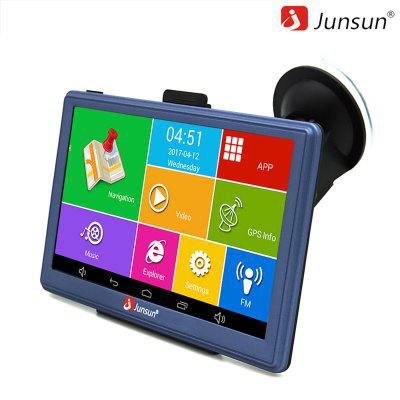 Junsun D300 7 inch Car GPS Navigation Android Bluetooth WIFI Truck Vehicle gps