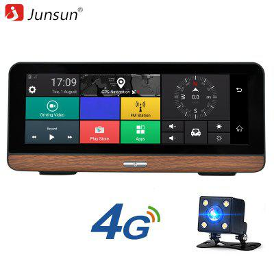 Junsun E31P 4g Car GPS DVR Camera Android 5.1 1080p Video Recorder With Dual Len