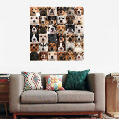 HD Waterproof Fashion Simple Animal Honderd PetsDog Home Decoration Poster afdrukken