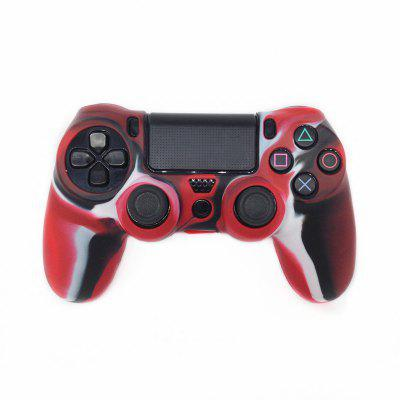 Camouflage Silicone Rubber Skin Grip Cover Case for PlayStation 4 PS4 Controlle
