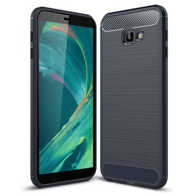 Luxury Carbon Fiber Soft Case for Samsung Galaxy J4 Core