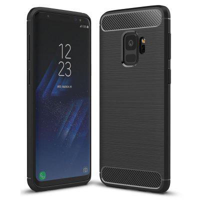 Luxury Carbon Fiber Soft Case for Samsung Galaxy S9