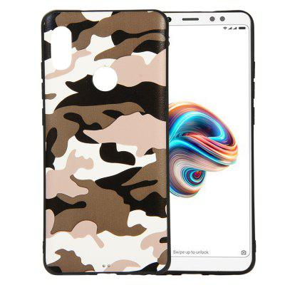 Camouflage Case for Xiaomi Redmi Note 5 Pro Cases Soft TPU Silicon Back Cover