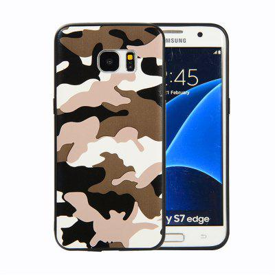 for Samsung Galaxy S7 Edge Phone Case Soft TPU Silicon Camouflage Cover