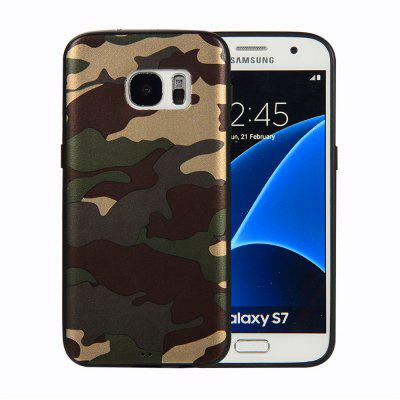 Camouflage Case for Samsung Galaxy S7 Phone Cases Soft TPU Silicon Back Cover