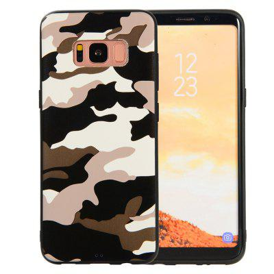 Camouflage Case for Samsung Galaxy S8 Phone Cases Soft TPU Silicon Back Cover