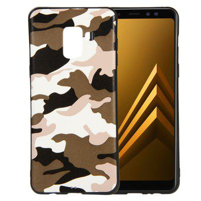 Camouflage Case for Samsung Galaxy A5 2018 Cases Soft TPU Silicon Back Cover