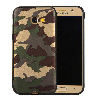 for Samsung Galaxy A5 2017 A520 Phone Case Soft TPU Silicon Camouflage Cover