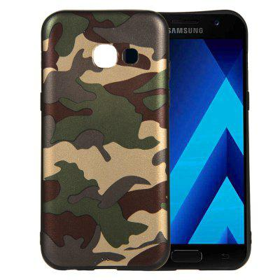 for Samsung Galaxy A3 2017 A320 Phone Case Soft TPU Silicon Camouflage Cover