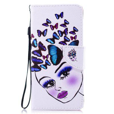Flip funda de lujo para Xiaomi Redmi Note5A PU Leather Phone Case