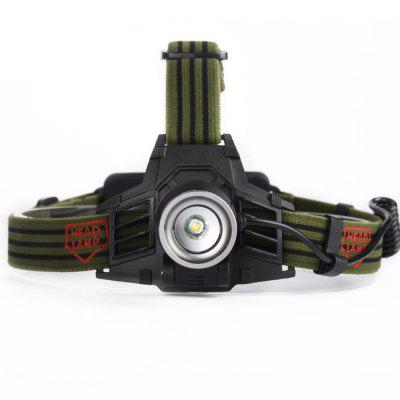 Q5 Zoomable LED Rechargeable USB Headlamp Flashlight Camping