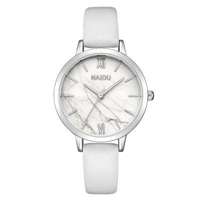 Marble Roman Ms. Simple Trendy Belt Quartz Watch