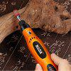 HILDA JD3324C USB Charging Rotary 3.6V Cordless Variable Speed Grinder Drill - MULTI-A