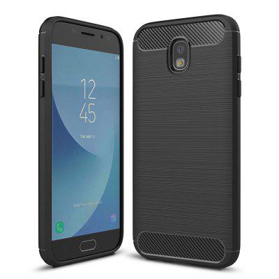 Custodia morbida in fibra di carbonio per Samsung Galaxy J5 Pro / J5 (2017) / J530 EU Version