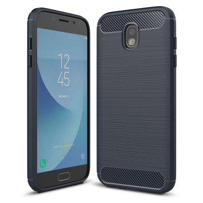 Carbon Fiber Soft Case for Samsung Galaxy J5 Pro / J5 (2017) / J530 EU Version