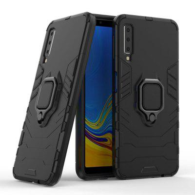 Ring Buckle Armor Case with Car Mount for Samsung Galaxy A750 / A7 2018