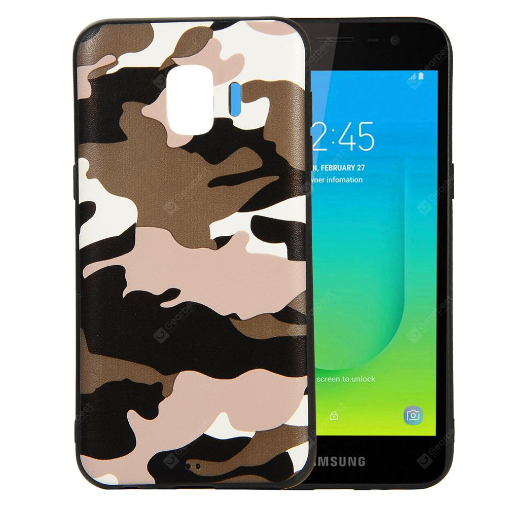 for Samsung Galaxy J2 Core Phone Case Soft TPU Silicon Camouflage Cover