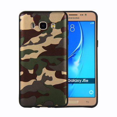 for Samsung Galaxy J5 2016 J510 Phone Case Soft TPU Silicon Camouflage Cover