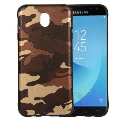 for Samsung Galaxy J7 2017 J730 / J7 Pro Case Soft TPU Silicon Camouflage Cover