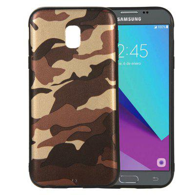 for Samsung Galaxy J3 2017 J330 / J3 Pro Case Soft TPU Silicon Camouflage Cover