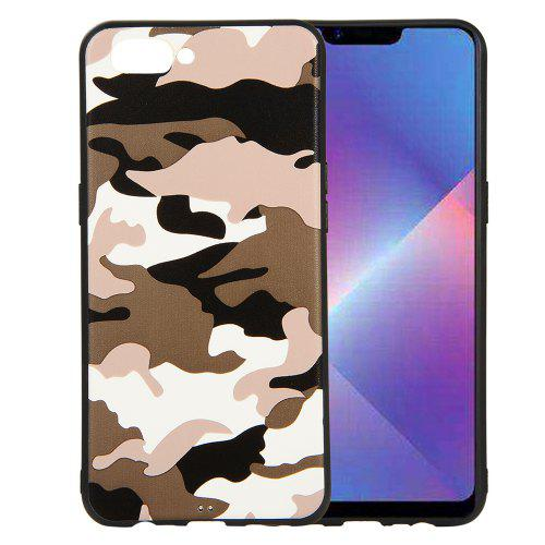 Camouflage Case for OPPO A3S / A5 Phone Cases Soft TPU Silicon Back Cover