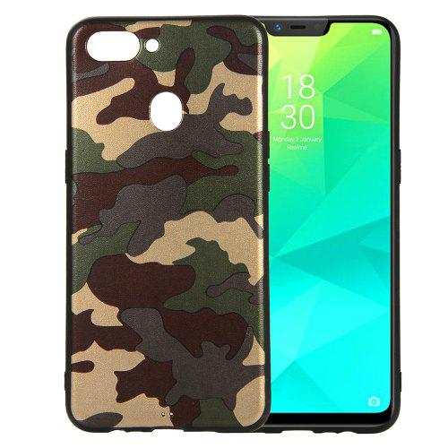 online store 5f3b8 f1224 Camouflage Case for OPPO Realme 2 / A5 Phone Cases Soft TPU Silicon Back  Cover