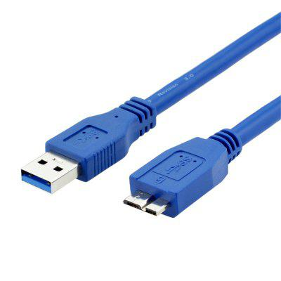 USB 3.0 Male AM to Micro B Hard Disk Data Sync Extension Cable