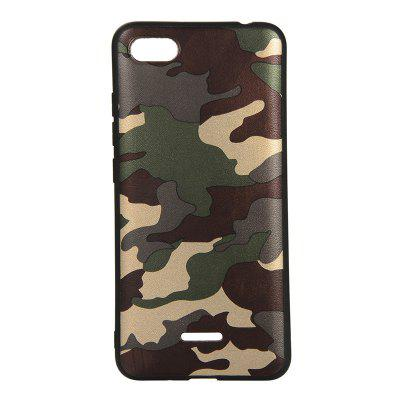 Army Green Camouflage Soft TPU Case for Xiaomi Redmi 6A
