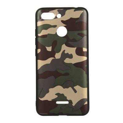Army Green Camouflage Soft TPU Case for Xiaomi Redmi 6