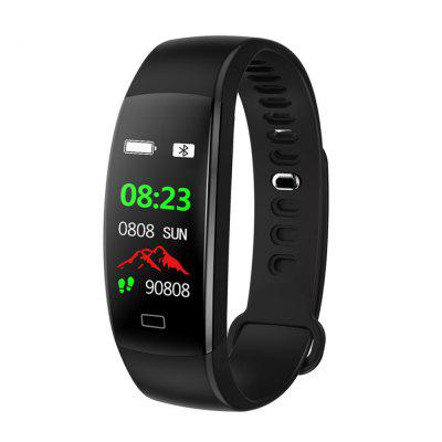 LEMFO F64HR Man Color Touch Screen Bluetooth Multi-Functional Smart Bracelet Image