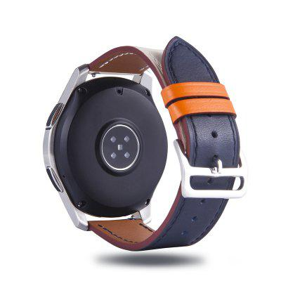 22MM Genuine Leather Single Tour Strap for Samsung Galaxy Watch 46MM Gear S3