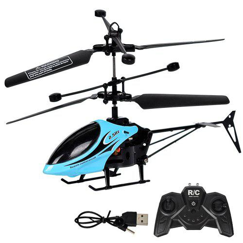 Remote Control Aircraft Mini 2 Channel Anti Drop Helicopter