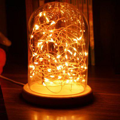 Fire Tree Silver Flower Romantic LED Atmosphere Night Light
