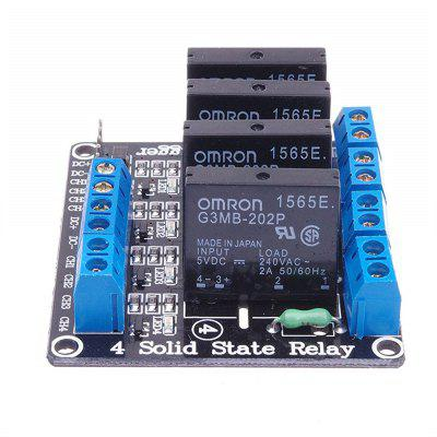 low level trigger 4-channel 5v Solid State Relay Module Board SSR