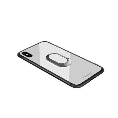 Para Iphone X Mobile Phone Bracket Caja de vidrio templado