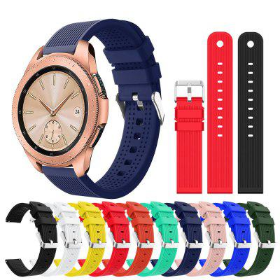 20 MM Soft Silicone Sport Horloge Band Strap voor Samsung Gear S2 Classic / Frontier