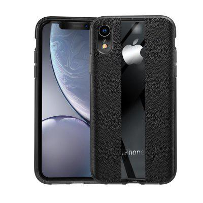 Luxury Leather Texture Shockproof Phone Cover Case for iPhone XR
