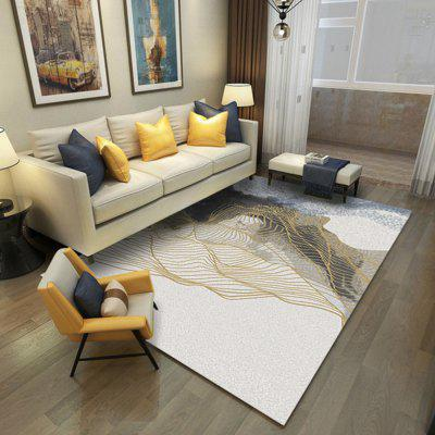 Crystal Super Soft Geometric Design Living Room Bedroom CarpetKitchen Bathroom