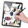 New Soft Silicone per Apple Pencil Cover per Tablet Touch Pen Full Protective - NERO