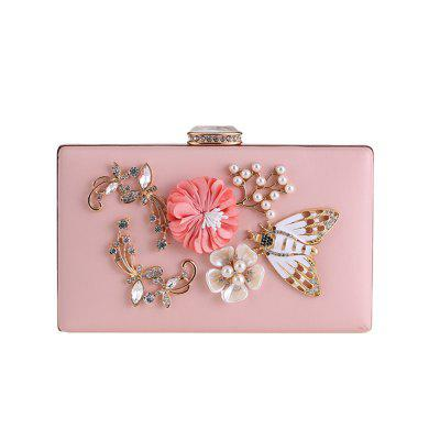 Pearl Flower Bag Dress Bag Hand Bag Dinner Will Pack The Chain Small Package