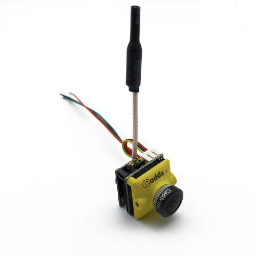 5.8G Transmitter 200mW with Caddx Turbo Micro F2 CMOS 2.1mm 1200TVL FPV Camera