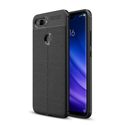 Pour Xiaomi 8 Youth Version Litchi Grain Phone Cover