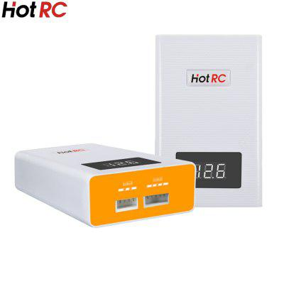 1 PCS HOTRC A400 Digital 3S 4S RC Lipo Battery Balance Charger with LED Screen