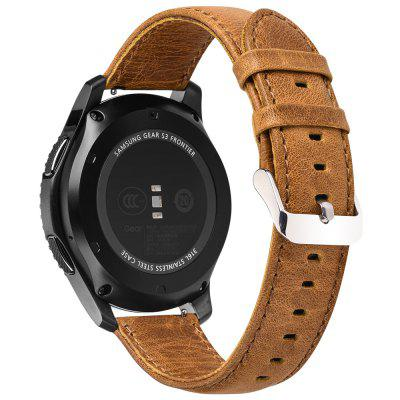 22 MM echt lederen horlogebandje voor Huami Amazfit Stratos 2 Smart Watch