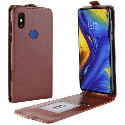 For Xiaomi Mix 3 Luxury PU Leather Flip Wallet Case